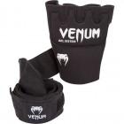 Вътрешни Ръкавици за Боксови Ръкавици - VENUM KONTACT GEL GLOVE WRAPS / BLACK