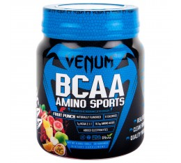VENUM BCAA AMINO SPORTS - 30 SERVINGS-FRUIT PUNCH​