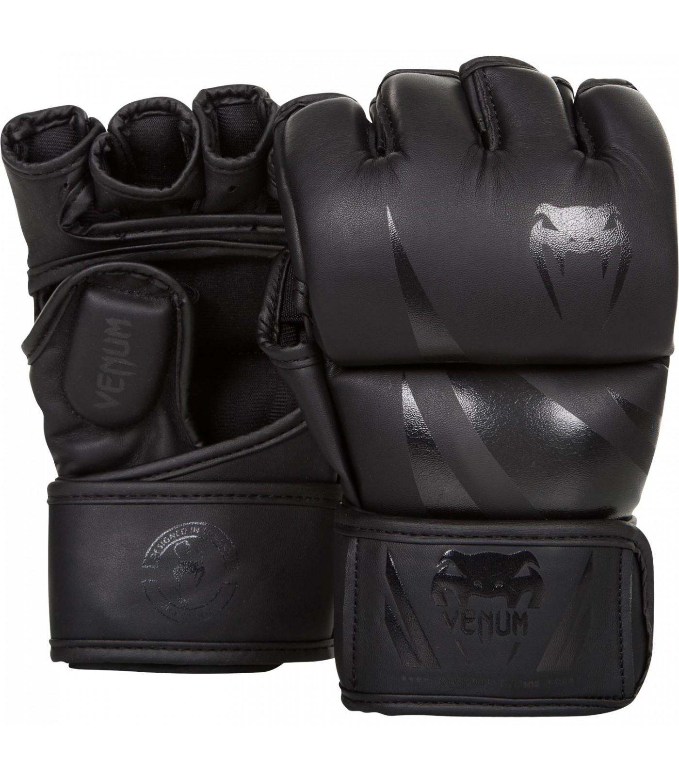 ММА ръкавици - Venum - Challenger MMA Gloves - Black/Black