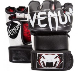 ММА ръкавици -  VENUM - UNDISPUTED 2.0 MMA GLOVES - BLACK - NAPPA LEATHER​ Други ръкавици