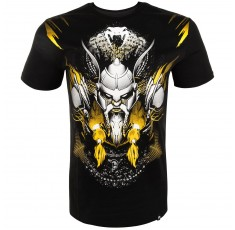 Тениска - Venum Viking 2.0 T-Shirt - Black/Yellow​