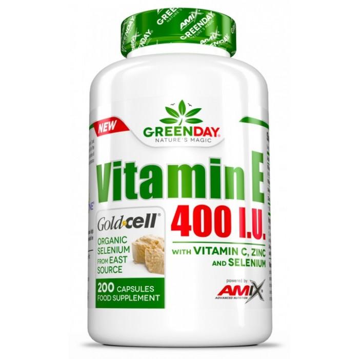 AMIX VITAMIN E 400 I.U. / 200 Caps.