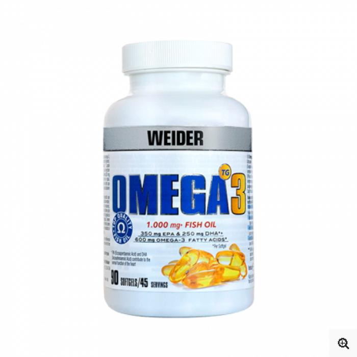 Weider - Omega 3 1000mg / 90 Caps.