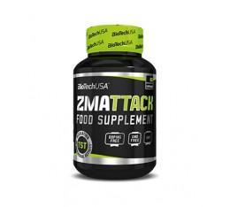 BIOTECH USA ZMAttack / 60 caps Хранителни добавки, Стимулатори за мъже, ZMA