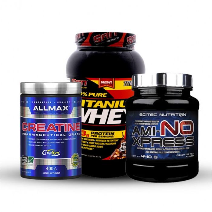 Стак Дзвер - Протеин + Аминокиселини + Креатин