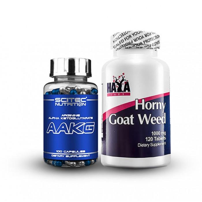Стак Пронижи Вещицата - Horny Goat Weed + Аргинин