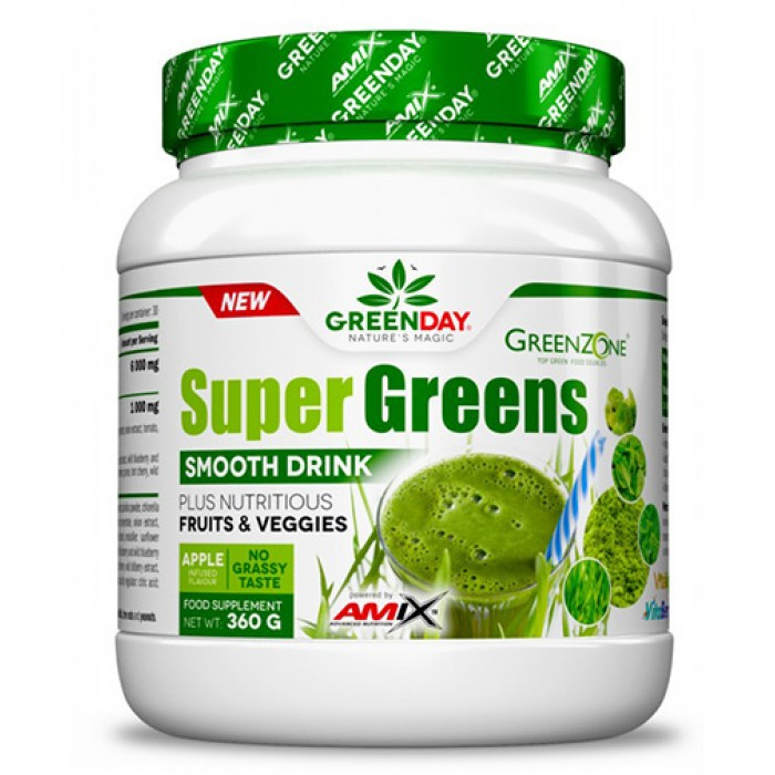 AMIX Super Greens Smooth Drink / 360гр.