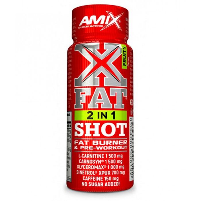 AMIX XFat 2in1 SHOT / 60ml​
