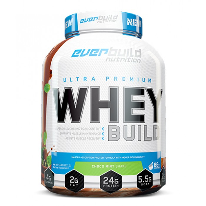 Everbuild - Ultra Premium Whey Build / 2271 гр.