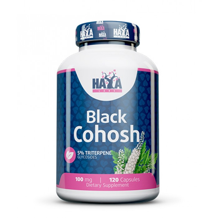 Haya Labs - Black Cohosh 100mg / 120 caps