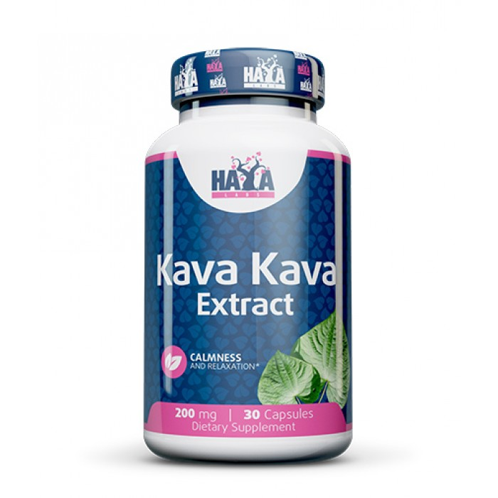 HAYA LABS Kava Kava / 200 mg. 30 caps.