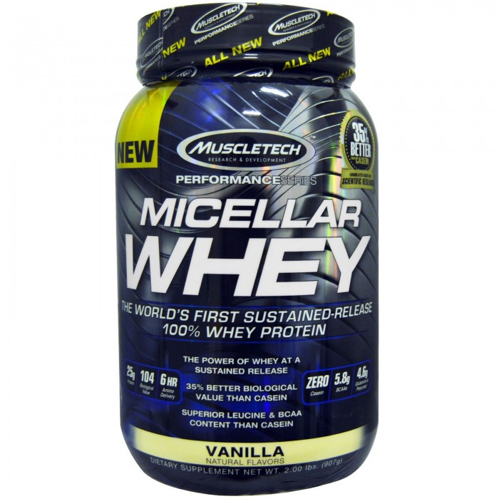 MuscleTech - Micellar Whey / 908 gr