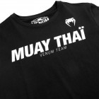 Тениска - Venum Muay Thai VT T-shirt - Black / White​