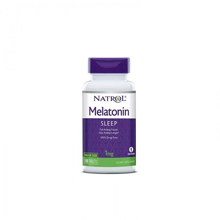 Natrol Melatonin 1mg / 180tabs.