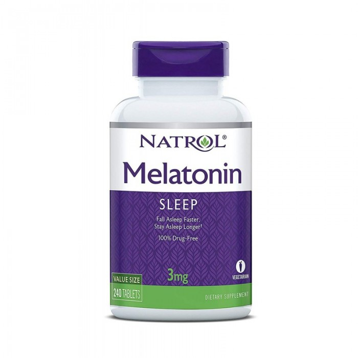 Natrol Melatonin 3mg / 240tabs.