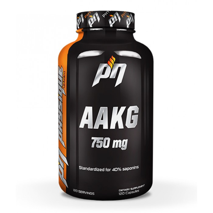 PHYSIQUE NUTRITION AAKG 750mg. / 120 Caps.
