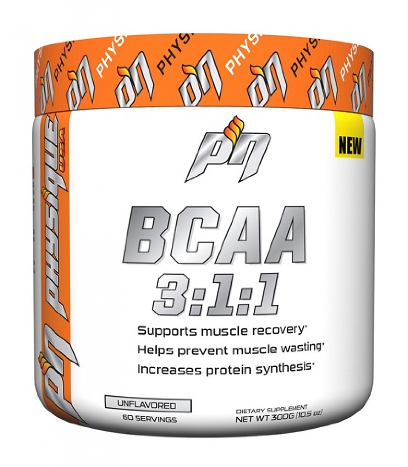PHYSIQUE NUTRITION BCAA 3:1:1 Powder / 300гр.
