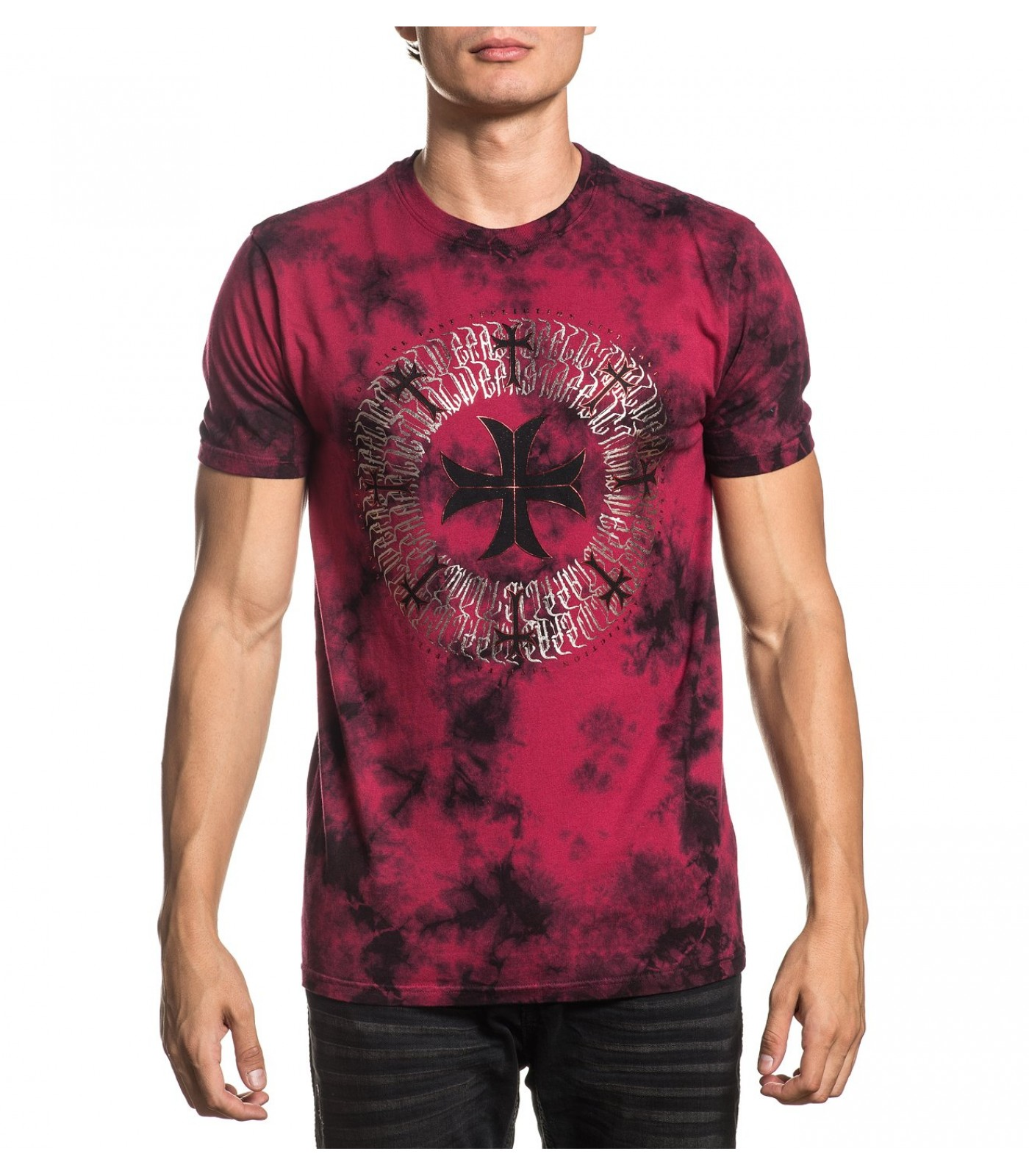 Affliction - Rome / RED/BLACK​