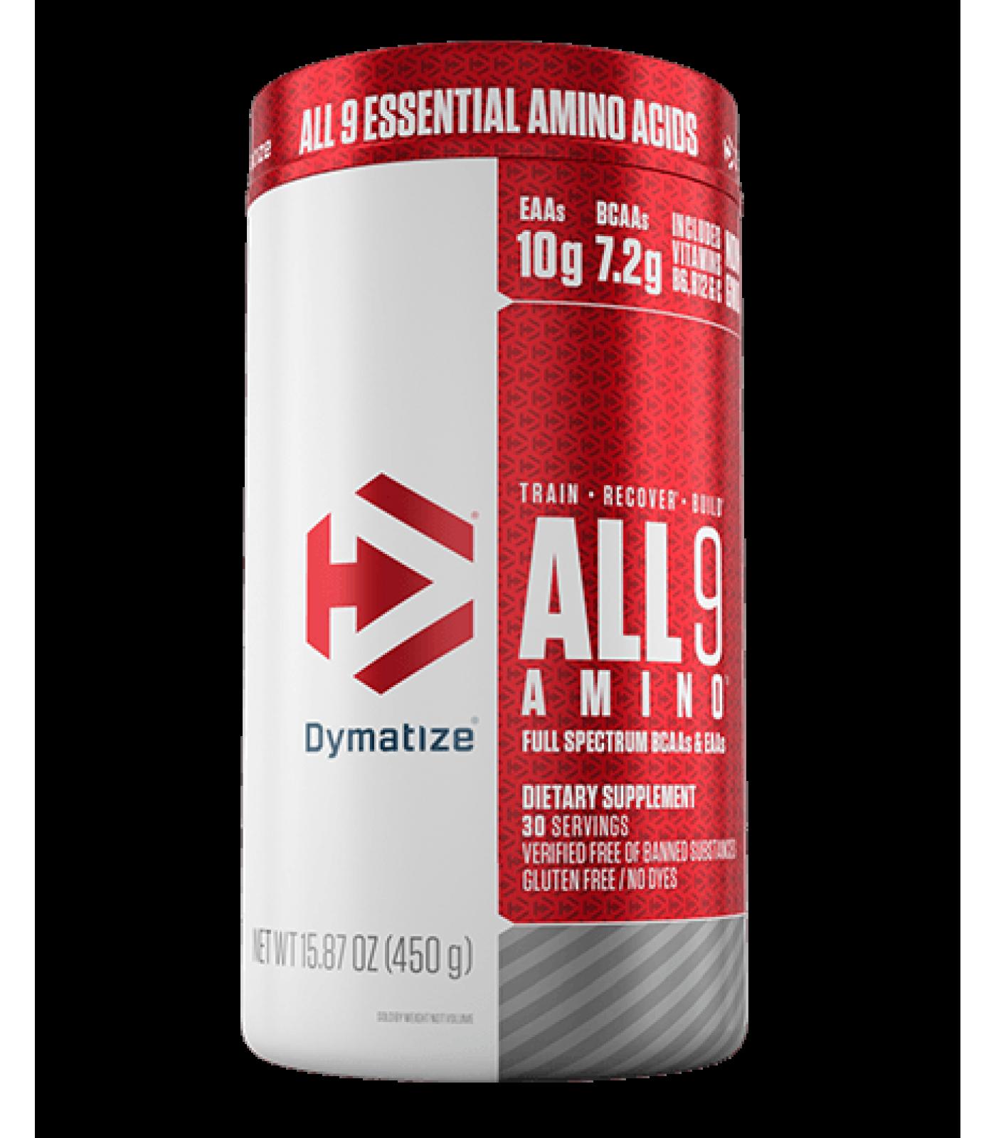 Dymatize - All9 Amino / 450гр.