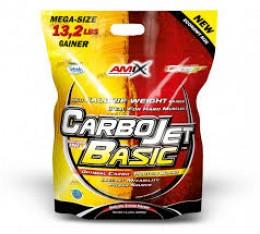 Amix - CarboJet ™ Basic / 6000gr. Хранителни добавки, Гейнъри за покачване на тегло, Гейнъри