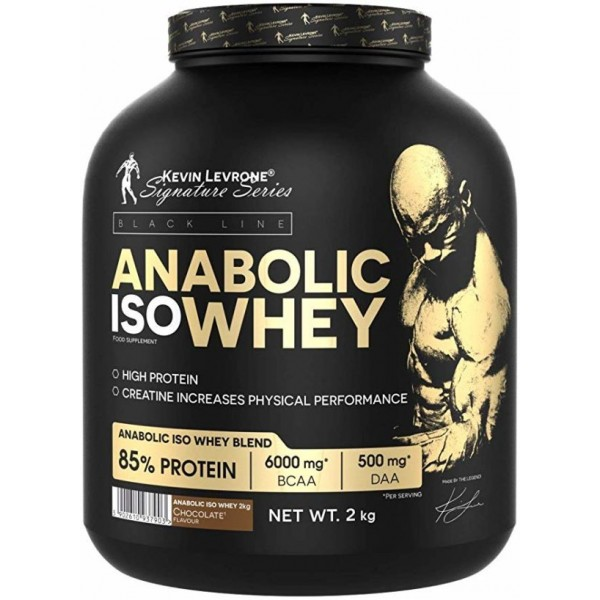 Kevin Levrone Black Line / Anabolic ISO Whey - 2000гр.​