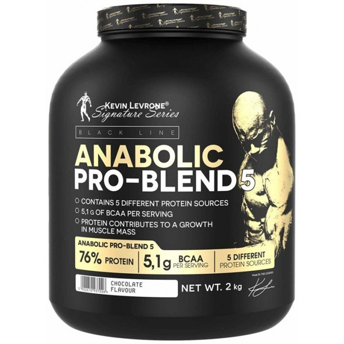 Kevin Levrone Black Line / Anabolic Pro Blend 5 - 2000гр.​