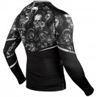 Рашгард - Venum Art Rashguard - Long Sleeves - Black/White​