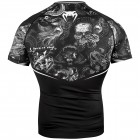 Рашгард - Venum Art Rashguard - Short Sleeves - Black/White​