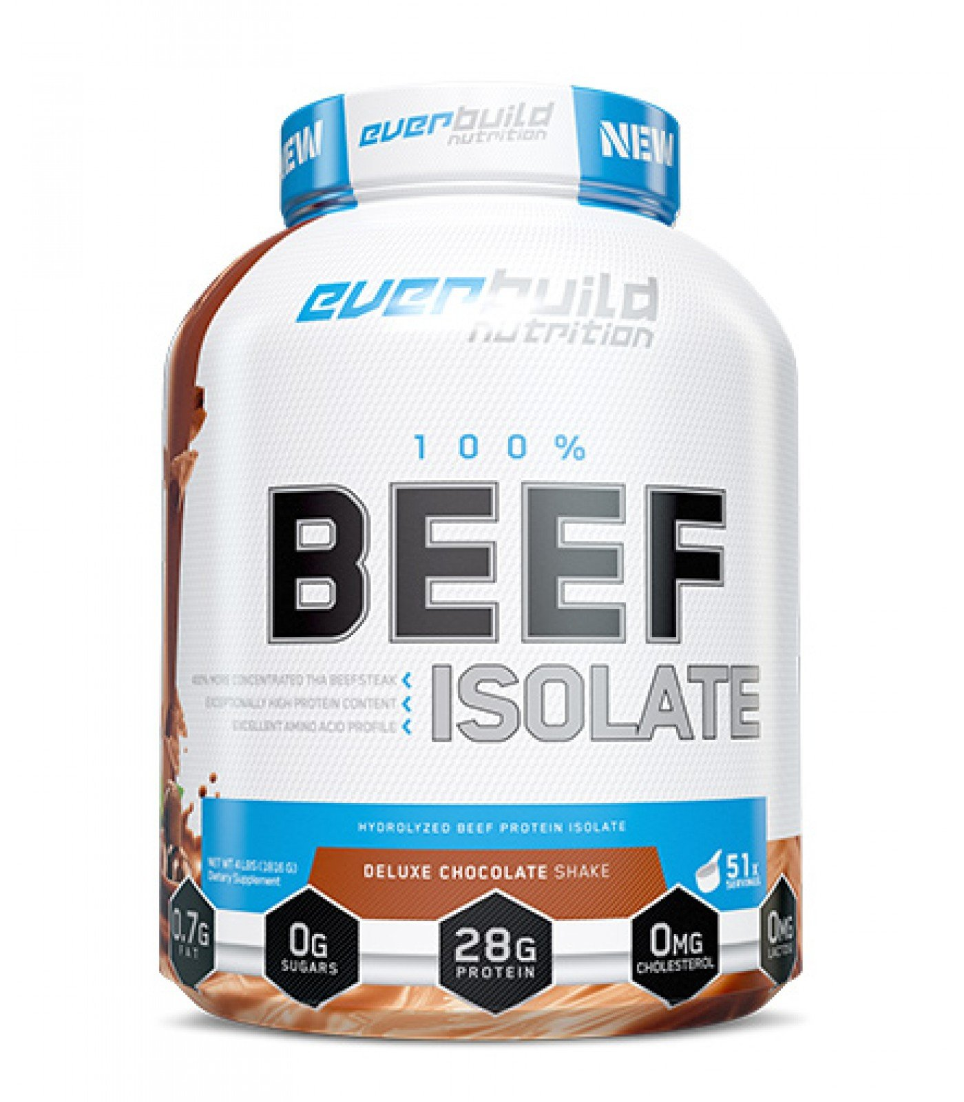 EVERBUILD - Ultra Premium 100% Beef Isolate / 2lbs.
