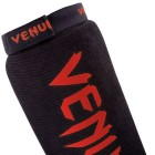 Протектори за крака - VENUM KONTACT SHINGUARDS AND INSTEP - COTTON - BLACK/RED​