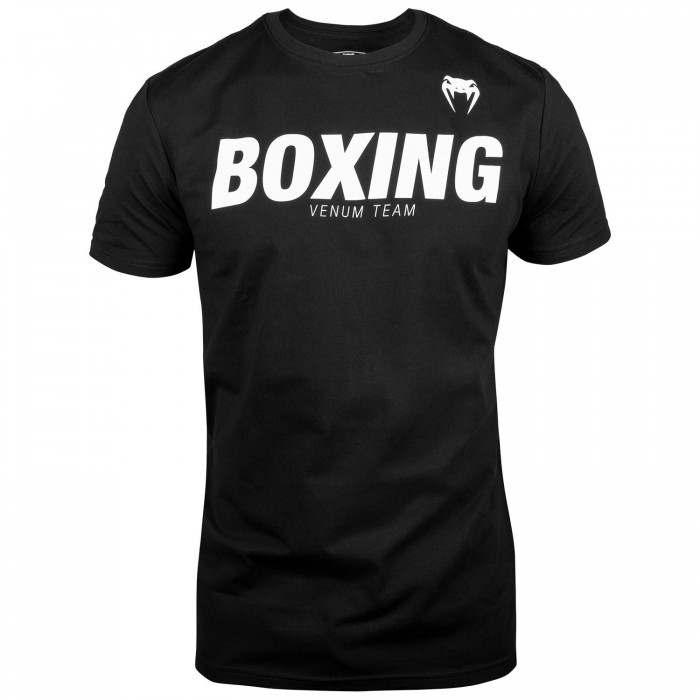 Тениска - Venum Boxing VT T-shirt - Black / White​