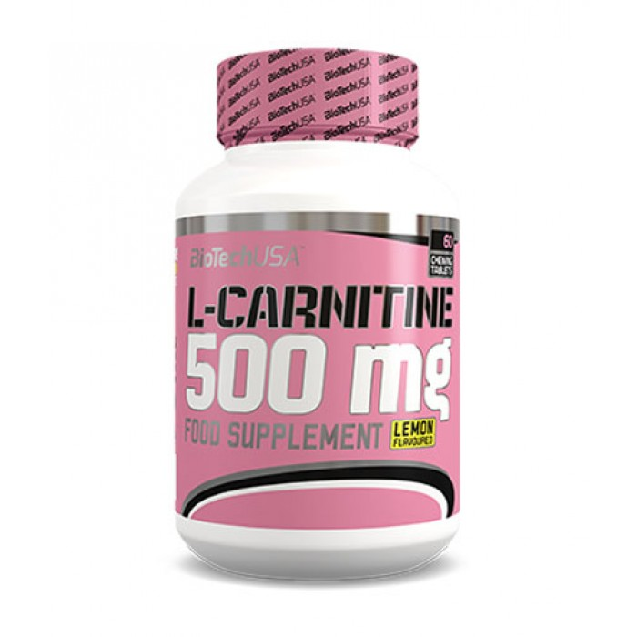 BIOTECH USA L-Carnitine 500 mg. / 60 Tabs.