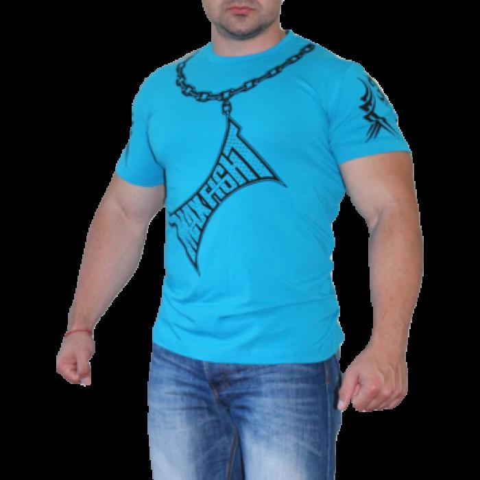 Max Fight - Тениска Chain / Син електрик