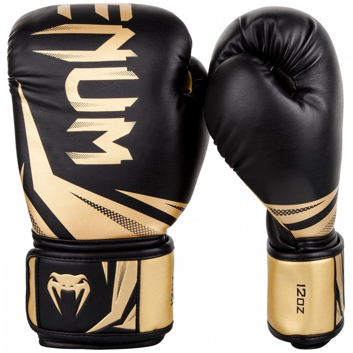 Боксови ръкавици - Venum Challenger 3.0 Boxing Gloves - Black/Gold​