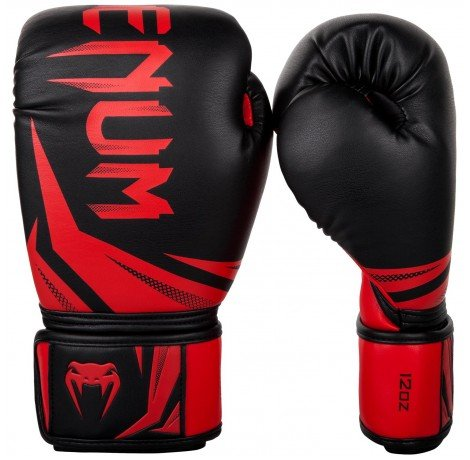 Боксови ръкавици - Venum Challenger 3.0 Boxing Gloves - Black/Red