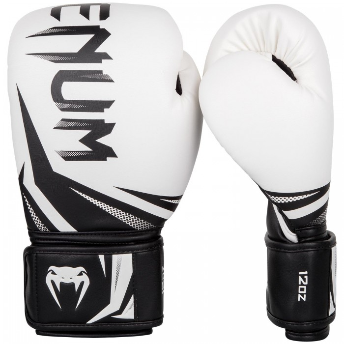 Боксови ръкавици - Venum Challenger 3.0 Boxing Gloves - White/Black​