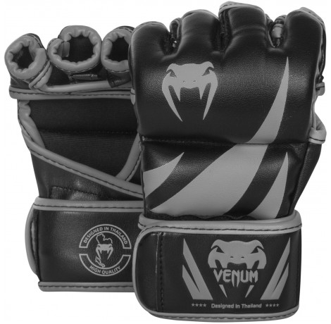 ММА ръкавици - Venum Challenger MMA Gloves - Black/Grey