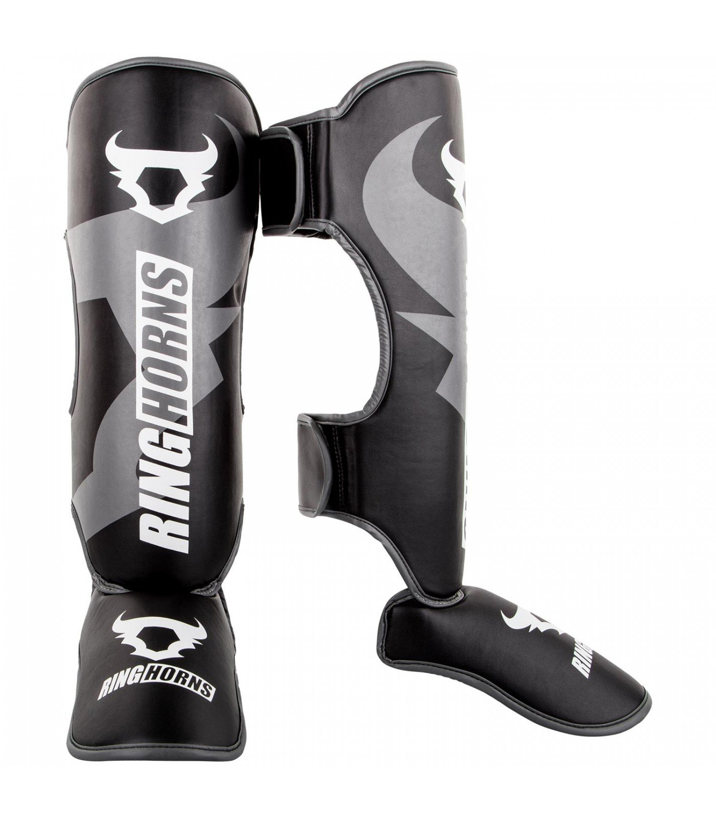 Протектори за крака - Ringhorns Charger Shinguards Insteps - Black​