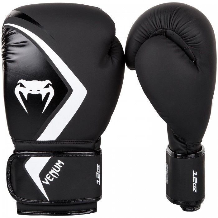 Боксови Ръкавици - Venum Boxing Gloves Contender 2.0 - Black/Grey-White​