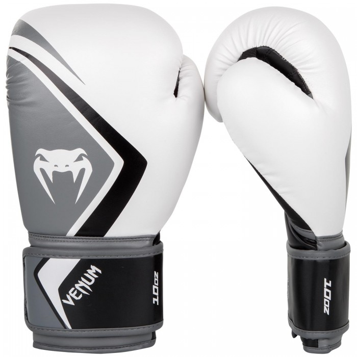 Боксови Ръкавици - Venum Boxing Gloves Contender 2.0 - White/Grey-Black​