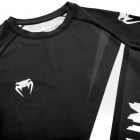 Рашгард - Venum Contender 4.0 Rashguard - Short Sleeves - Black/Grey-White​