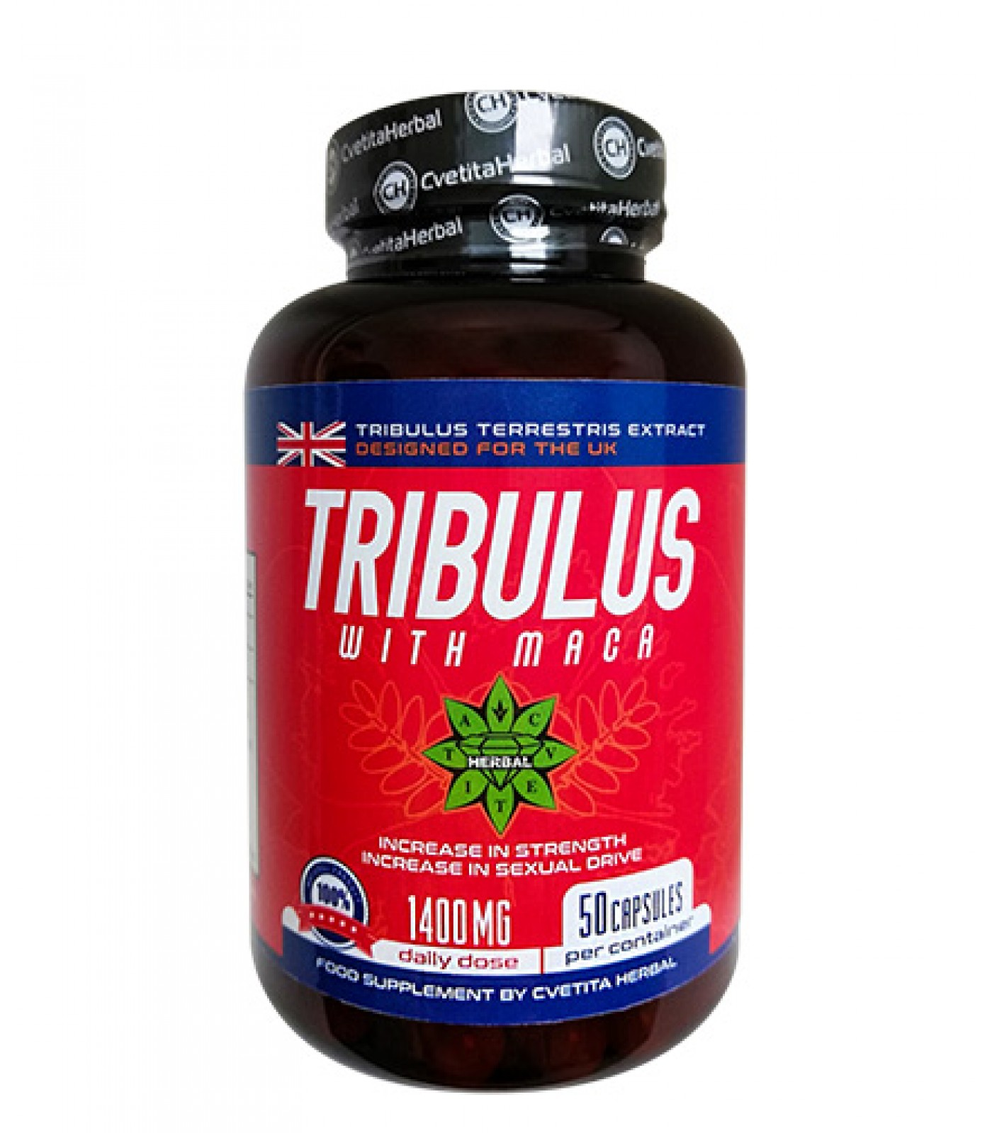 CVETITA HERBAL Tribulus with Maca / 50caps.
