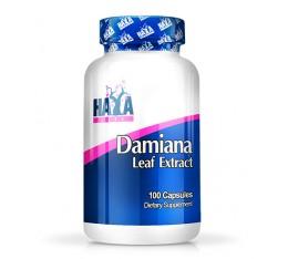 HAYA LABS Damiana Leaf Extract / 100 Caps. Хранителни добавки, Тестостерон стимулатори, Здраве и тонус