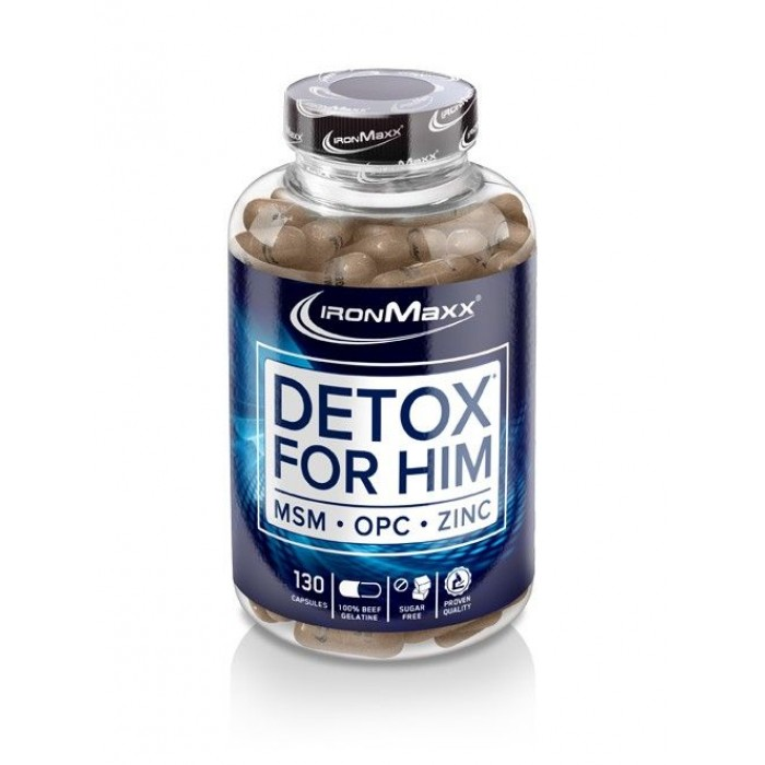 IronMaxx - Detox For Him / 130caps.