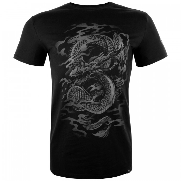 Тениска - Venum Dragon's Flight T-shirt - Black/Black​