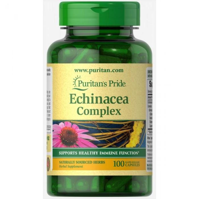 Puritan's Pride - Echinacea Complex 450mg / 100caps.