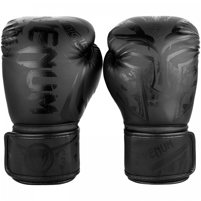 Боксови ръкавици - Venum Gladiator 3.0 Boxing Gloves - Black/Black​