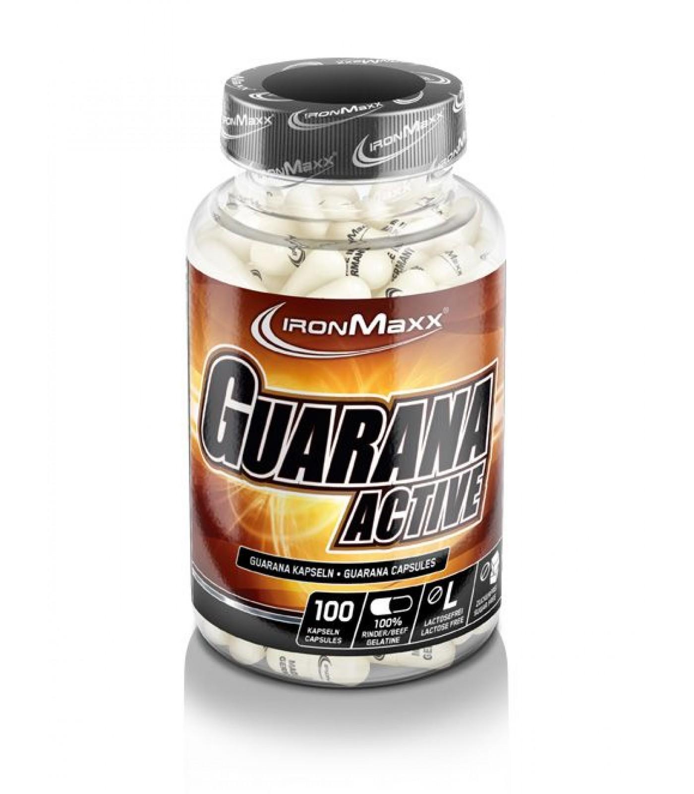 IronMaxx - Guarana Active / 100caps.