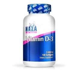 Haya Labs - Vitamin D-3 / 5000 IU / 100 Softgels