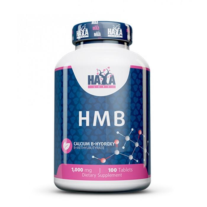 Haya Labs - HMB 1000mg. / 100 tabs.